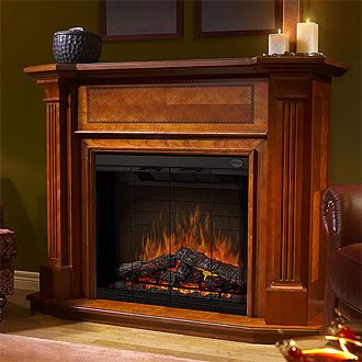 25 best ideas about cheap electric fireplace on pinterest for Cheap wooden fireplace surrounds