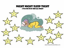 Sleep Star Chart