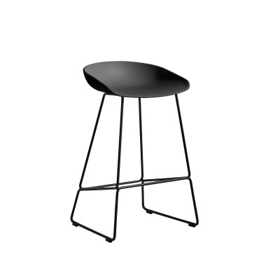 About a Stool 38 barstol h65, soft black/svart i gruppen Möbler / Stolar & Pallar / Barstolar hos RUM21.se (1028533)