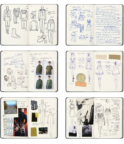 Fashion Design Sketchbooks