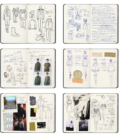 Fashion Design Sketchbooks