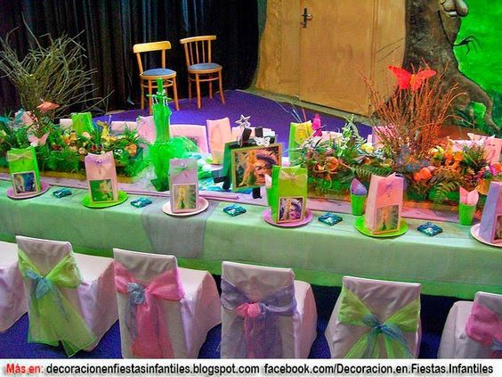 17 mejores ideas sobre fiesta de la campanita en pinterest - Blog de decoracion infantil ...