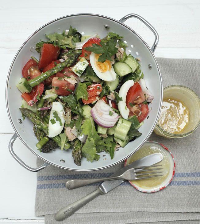 Nicoise Salad Recipe by Teresa Cutter: Amazing Salads, Salad Recipes, Healthy Salads, Nicoise Salad 0061, Healthy Chef, Healthy Recipes, Recipes Salad