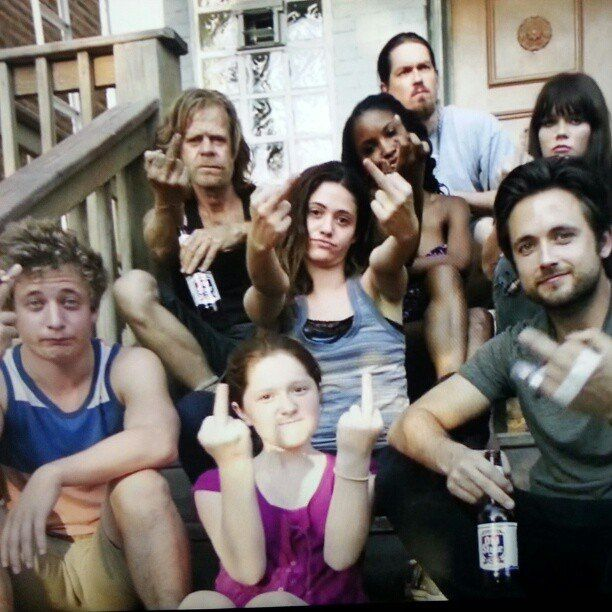 Shameless-one of my favorite shows.