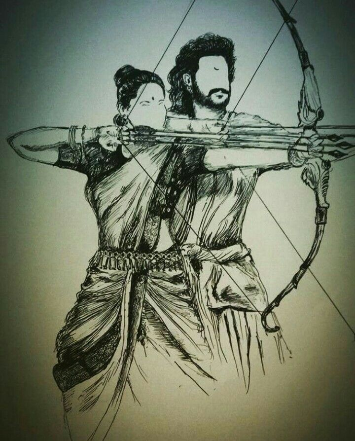 Baahubali sketch