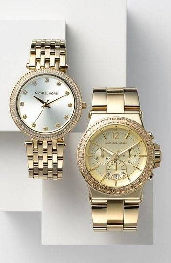 In love with MICHAEL Michael Kors watches