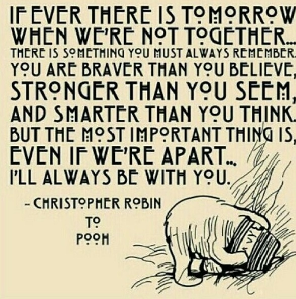 Marvelous Winnie the Pooh quote