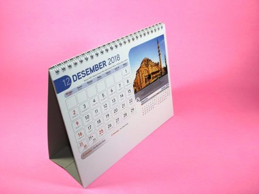 Kalender Meja 2018 Bergambar Masjid Dunia AO 926 - Ayuprint.co.idAyuprint.co.id