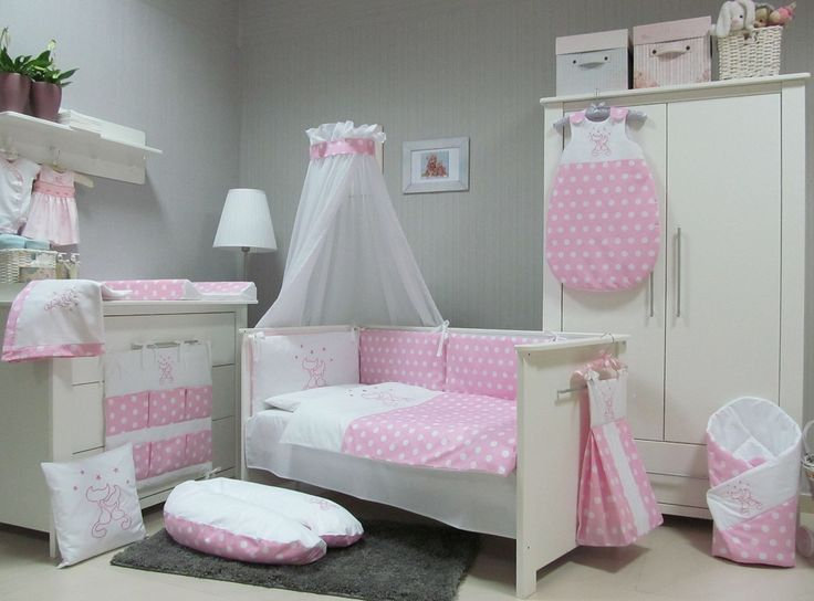 baby bettw sche set mit himmel my blog. Black Bedroom Furniture Sets. Home Design Ideas