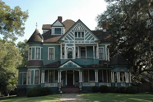 Bainbridge ga decatur county high victorian architecture for Double storey victorian homes