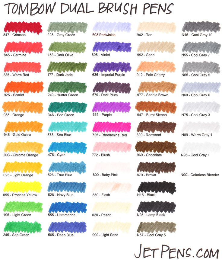 tombow swatches - Google Search