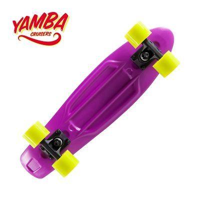 Skateboard Roller, skate, trottinette - SKATE CRUISER YAMBA VIOLET OXELO - Skateboards et Waveboard