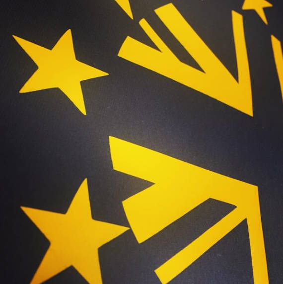 The UK is STILL in Europe. #Brexit notwithstanding, nothing's happened yet and nothing will happen for a long time yet. So while we are still in it, why not enjoy it ? Navy ... #europe #stars #brexit #remain #flag #esc #eurovision