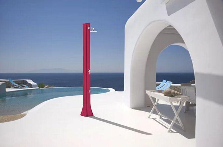 Solární sprcha BIG HAPPY, 40l - HDPE, s oplachem nohou :: Ekupectví - Vaše kupectví online