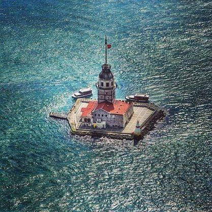 Maiden Tower, The Lighthouse in Bosphorus