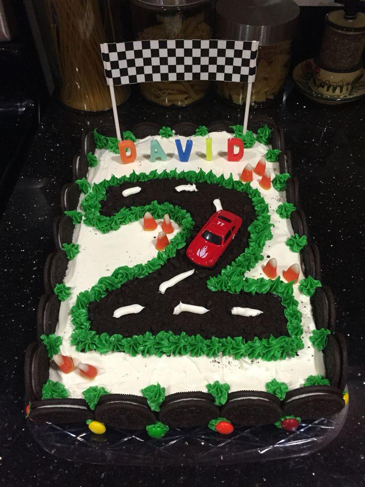 2nd Birthday- Race Car Theme- Cake
