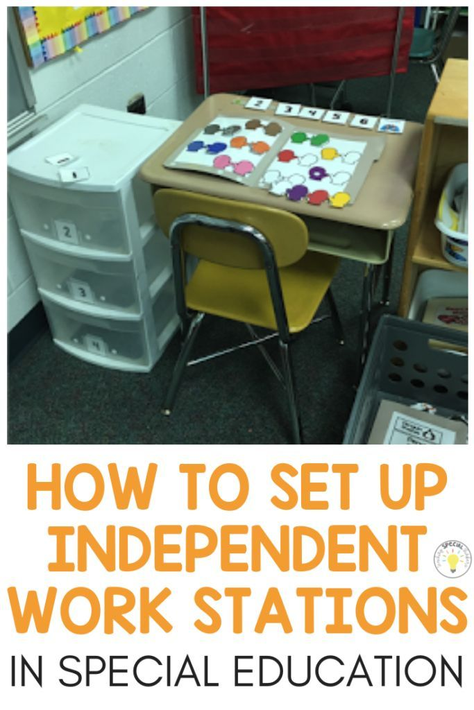 Utilizing Structured Work Programs to Foster Pupil Independence