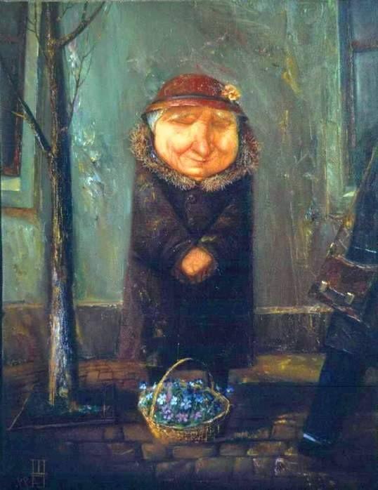 Геннадий Шлыков. Подснежники.