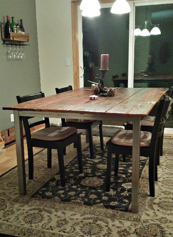 10 Person Table Part - 23: Reclaimed Barn Wood U0026 Steel 10 Person Dining By PacificElements