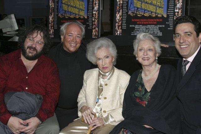 Peter Jackson, Celeste Holm, Fay Wray, Rick McKay and Frank Basile