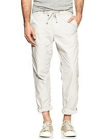 Lightweight ripstop fatigue pants - GAP