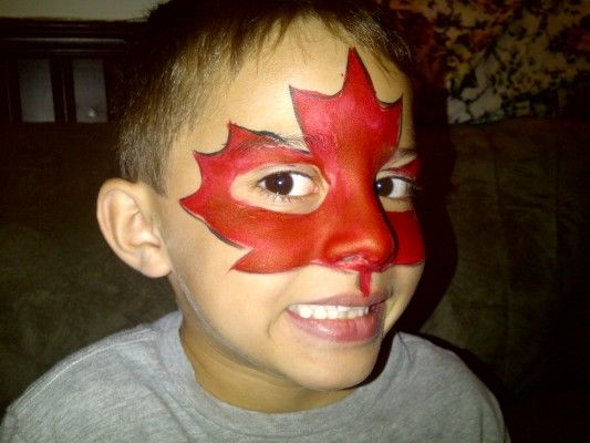 face painting canada day - Google Search