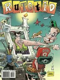 Rutetid - crazy cartoon