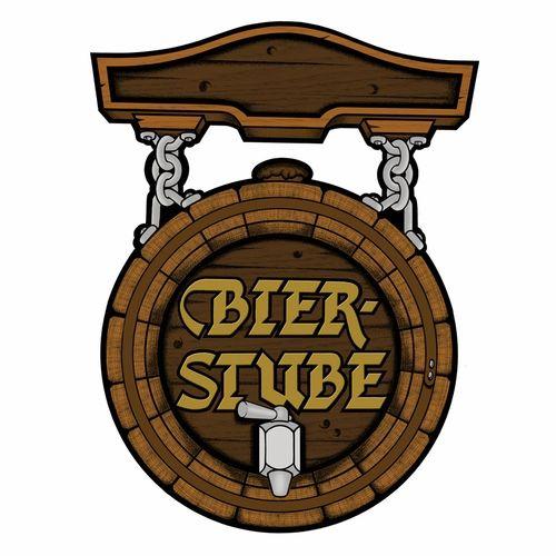 """German """"Beer Room"""" Sign"""