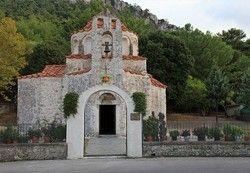 Holy Monastery Saint Nicholas of Fountoukli - Churches in Rhodes
