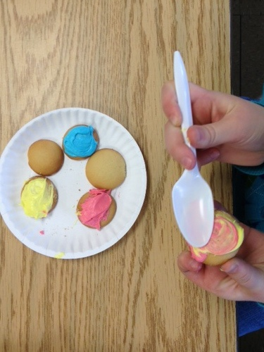 Color Wheel Projects Mondrian Animals Fingerpainting And Edible Wheels