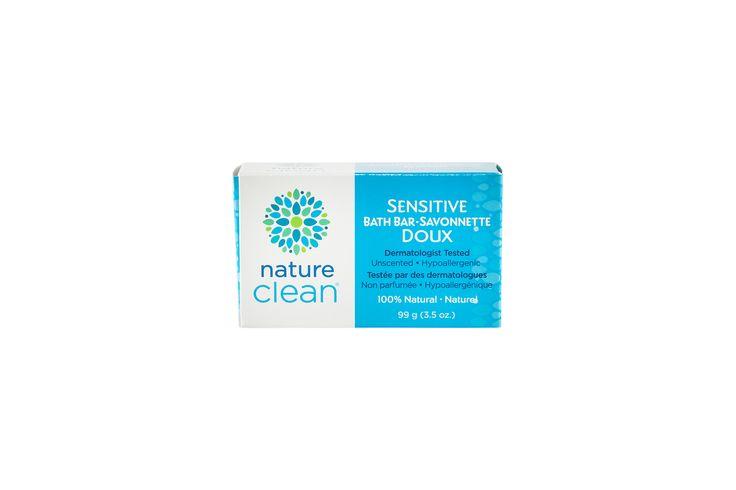 100% Natural Hypoallergenic Bath Bar   Nature Clean