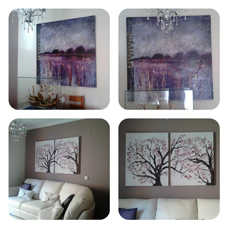 Mis cuadros para el salón