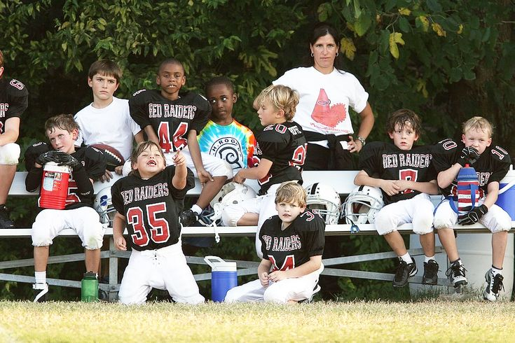 kids sports - fun for parents stuck sitting on the bleachers.