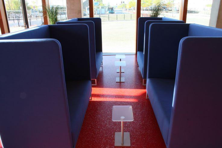 Realisatie restaurant Waterschap Scheldestromen, Goes.  1st Class opstelling Lande.