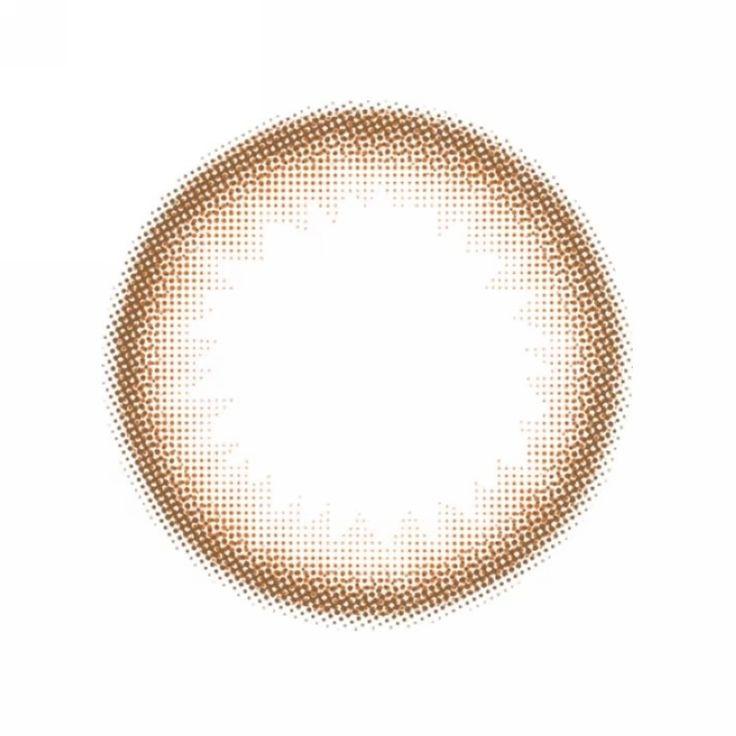 Colored Non Prescription Contact Lenses Mohji Brown