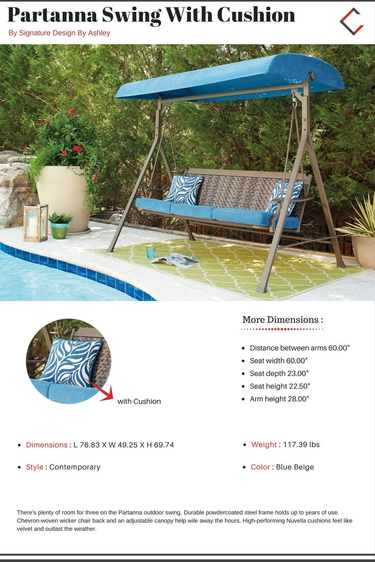 Patio Swing Replacement Seat: Best 25+ Outdoor Swing Cushions Ideas On Pinterest