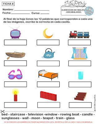 Emejing Ejercicios Ingles Cuarto Primaria Images - Casas: Ideas ...