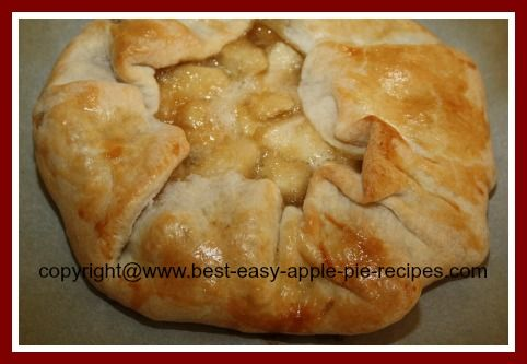 Make An Easy Single Pastry Crust Pie Recipe Desserts with pastry dough, apples, brown sugar, granulated sugar, all-purpose flour, salt, lemon juice, butter, eggs
