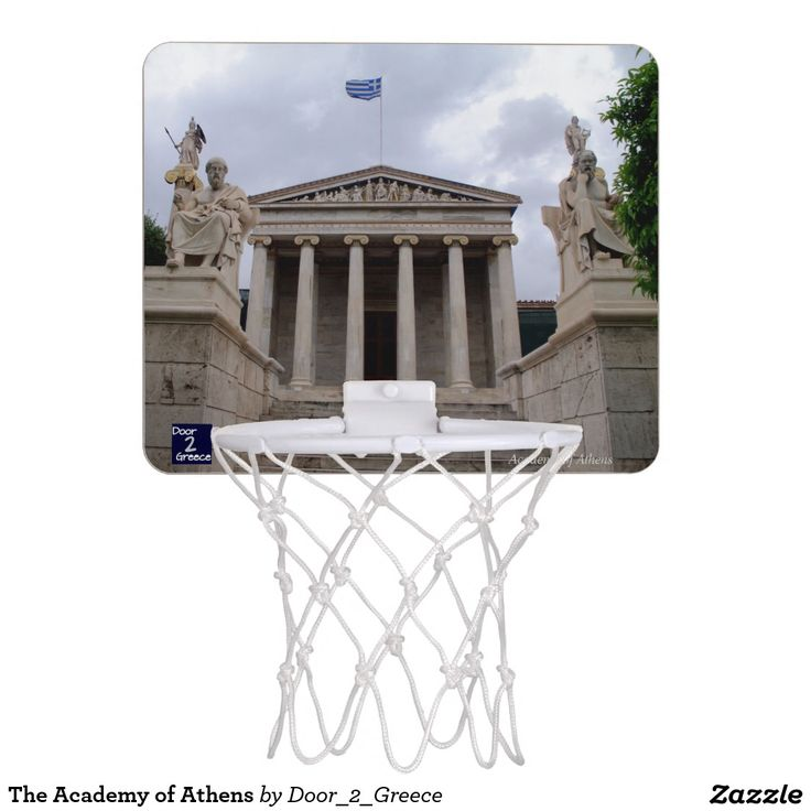 The Academy of Athens Mini Basketball Hoops