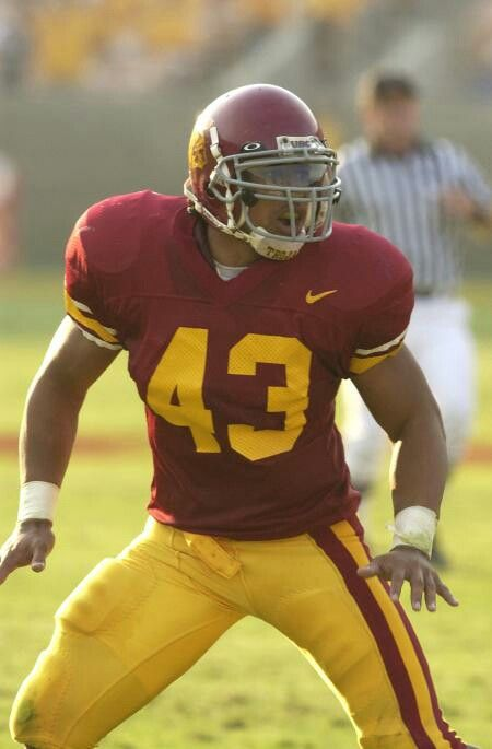 USC Football Fight On Troy Polamaulu