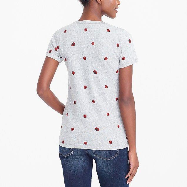ladybug collector t-shirt : factorywomen knits & t-shirts