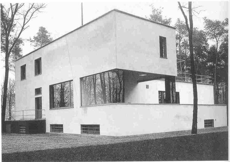 This rather blurry and imprecise photograph, taken by Ise Gropius in 1926, became one of the most iconic images of the House Gropius after t...