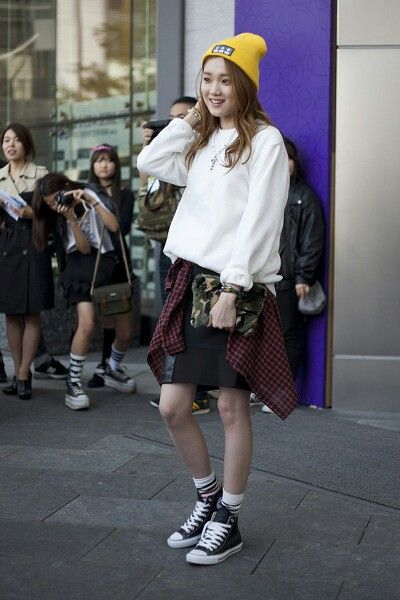 2014 S S Seoul Fashion Week Street Fashion The Korean Fashion Lookbook Pinterest