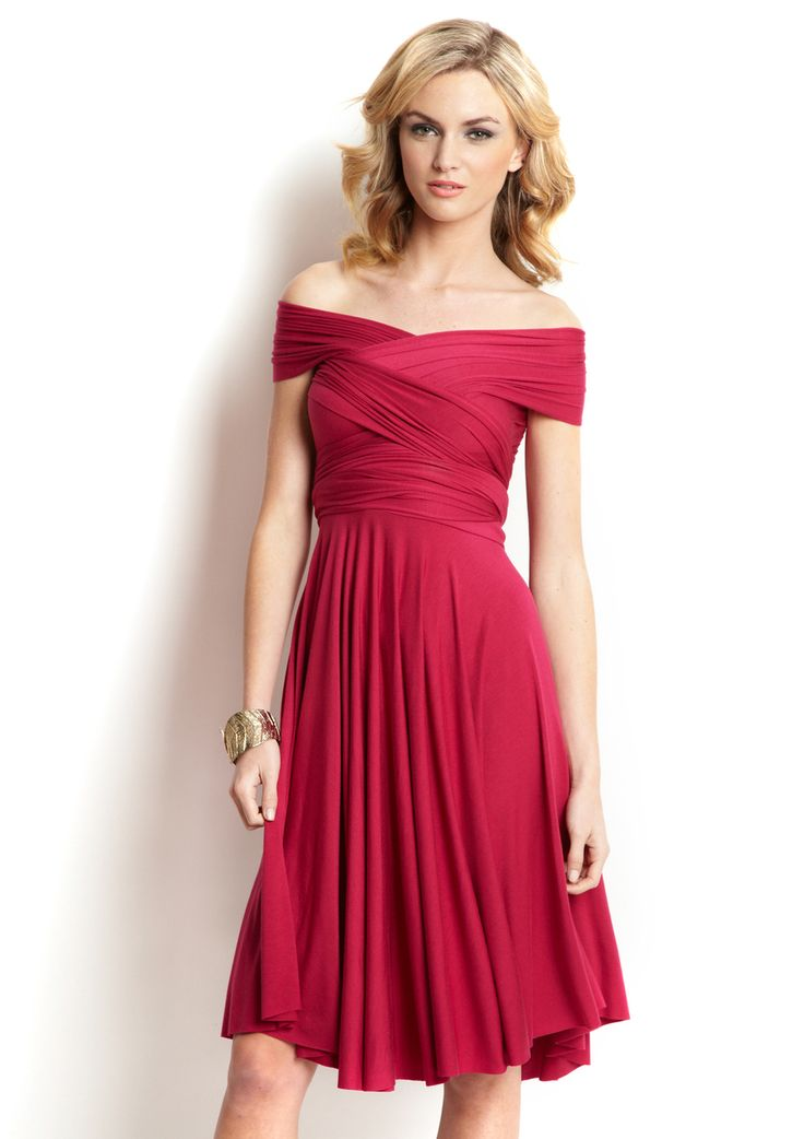 Off the shoulder... Would look nice for a fancier affair