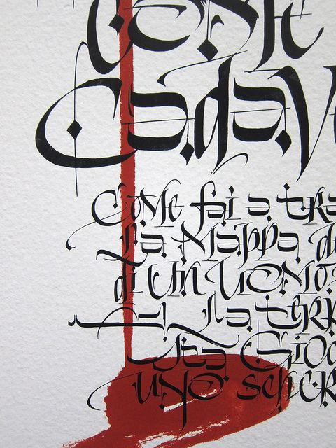 TEN CLOUDS exhibition - Treviso 27-11/10/2013 by Luca Barcellona - Calligraphy & Lettering Arts, via Flickr