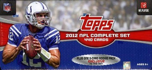 NFL 2012 Topps Factory Football Card Complete Set  very Base and Subset Card from 2012 Topps Football-440 CARDS  PLUS ONE 5-CARD PACK of ROOKIE VARIATION CARDS  Robert Griffin III