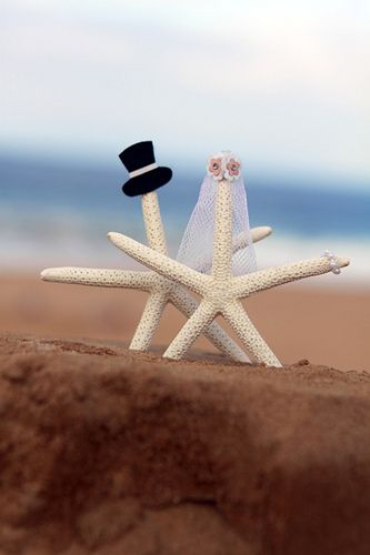 Starfish wedding