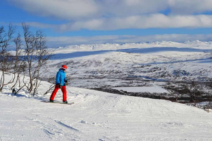 Hovden in Setesdal is one of the Norway's best ski resorts.   Photo: Elisabeth Høibo©Visit Soutnern Norway