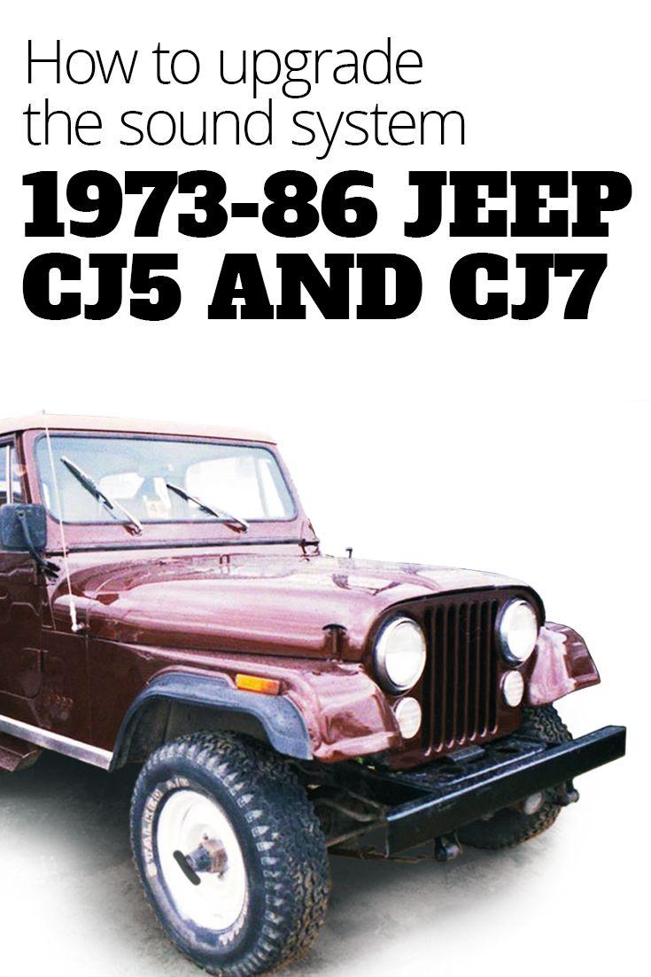 1973 1986 jeep cj5 and cj7