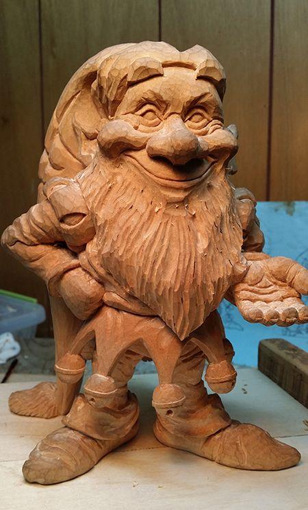 Je la trouve simplement magnifique cette sculpture avec tout ses petit détail.